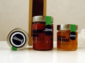 Detall de la marca de conserves Simul dissenyat per Gemma Roig. Imatge: Amunt.Ebre